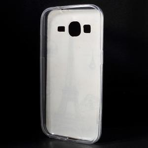 Ultratenký slim obal na Samsung Galaxy Core Prime - Eiffelova věž - 2