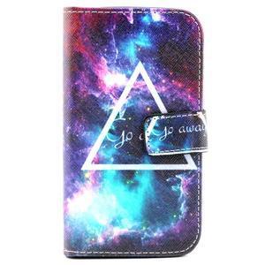 Puzdro pre mobil Samsung Galaxy Core Prime - traingl - 2