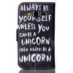 Emotive peněženkové pouzdro na Samsung Galaxy Core Prime - unicorn - 2/6