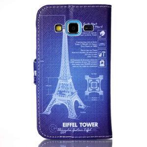 Emotive peňaženkové puzdro pre Samsung Galaxy Core Prime - Eiffelova veža - 2
