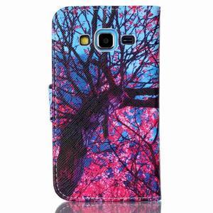 Emotive peňaženkové puzdro pre Samsung Galaxy Core Prime - strom - 2