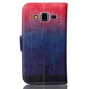 Emotive peňaženkové puzdro pre Samsung Galaxy Core Prime - meteor - 2