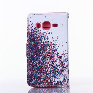 Standy peňaženkové puzdro pre Samsung Galaxy Core Prime - balónky - 2