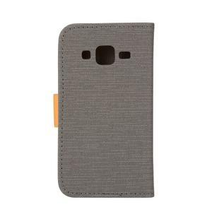 Covers puzdro pre mobil Samsung Galaxy Core Prime - šedé - 2