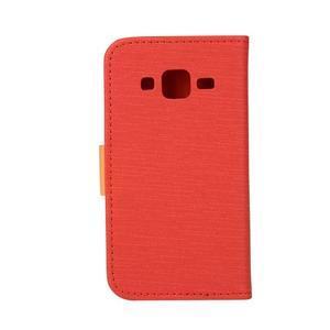 Covers puzdro pre mobil Samsung Galaxy Core Prime - červené - 2