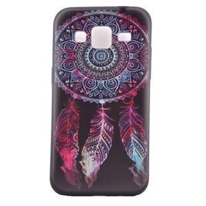 Hardy gélový obal pre mobil Samsung Galaxy Core Prime - lapač snov - 2
