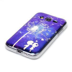 Bluray gelový obal s odlesky na Samsung Galaxy Core Prime - láska - 2