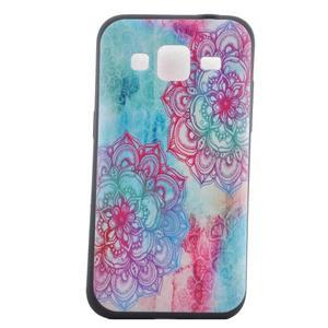 Hardy gélový obal pre mobil Samsung Galaxy Core Prime - henna - 2