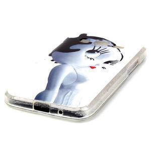 Softy gélový obal Samsung Galaxy Core Prime - mačička - 2