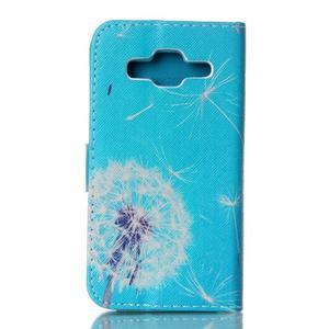 Knížkové pouzdro na Samsung Galaxy Core Prime - pampeliška - 2