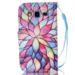 Pictu puzdro pre mobil Samsung Galaxy Core Prime - malované kvety - 2