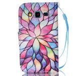 Pictu pouzdro na mobil Samsung Galaxy Core Prime - malované květy - 2/7