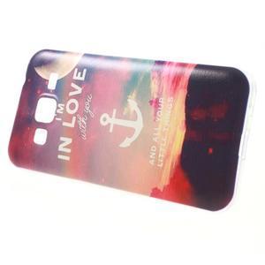 Gelový obal na Samsung Galaxy Core Prime - kotva lásky - 2