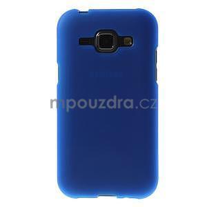 Modrý matný kryt pre Samsung Galaxy J1 - 2