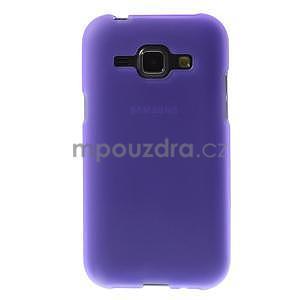 Fialový matný kryt pre Samsung Galaxy J1 - 2