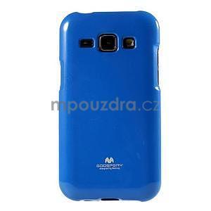 Modrý gélový obal na Samsung Galaxy J1 - 2