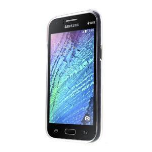 Gélový kryt pre Samsung Galaxy J1 - farby dreva - 2