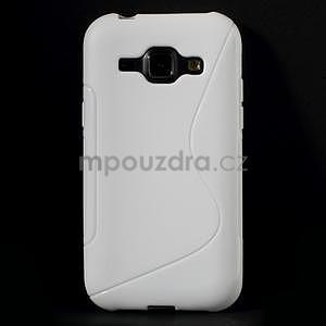 Biely gélový s-line obal Samsung Galaxy J1 - 2