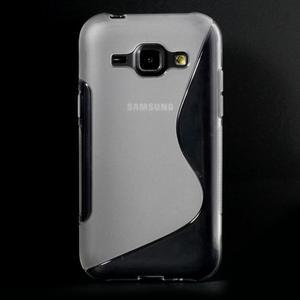 Transparentní gélový s-line obal Samsung Galaxy J1 - 2