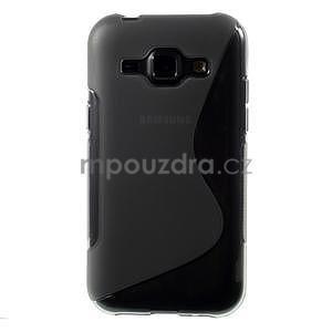 Šedý gélový s-line obal Samsung Galaxy J1 - 2