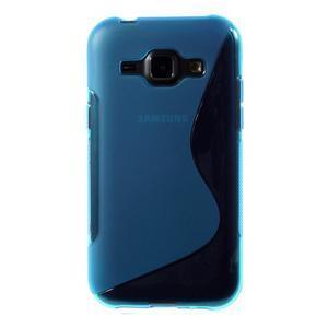 Modrý gélový s-line obal Samsung Galaxy J1 - 2