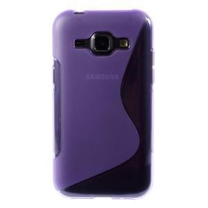 Fialový gélový s-line obal Samsung Galaxy J1 - 2