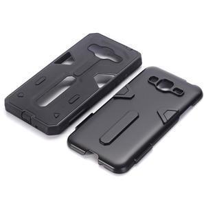 High outdoor odolný kryt pre mobil Samsung Galaxy J3 (2016) - čierný - 2