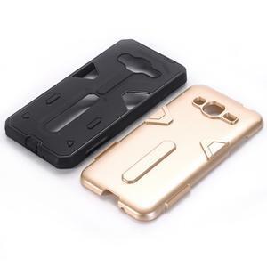 High outdoor odolný kryt pre mobil Samsung Galaxy J3 (2016) - zlatý - 2