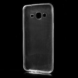 Transparentní ultratenký gelový obal na Samsung Galaxy J3 (2016) - 2