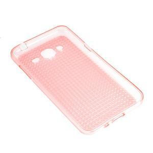 Diamond gelový obal na mobil Samsung Galaxy J3 (2016) - růžový - 2