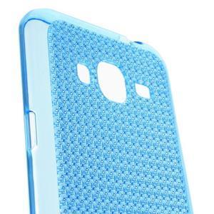 Diamond gelový obal na mobil Samsung Galaxy J3 (2016) - modrý - 2