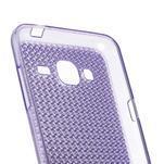 Diamond gelový obal na mobil Samsung Galaxy J3 (2016) - fialový - 2/3