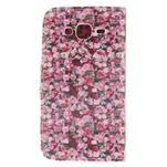 Standy peněženkové pouzdro na Samsung Galaxy J5 - růže - 2/7