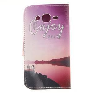 Standy peněženkové pouzdro na Samsung Galaxy J5 - enjoy - 2
