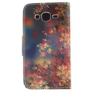 Standy peňaženkové puzdro pre Samsung Galaxy J5 - jesenné zátiší - 2