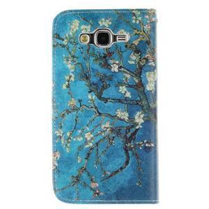 Standy peněženkové pouzdro na Samsung Galaxy J5 - kvetoucí strom - 2