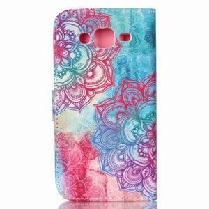 Pictu peňaženkové puzdro pre Samsung Galaxy J5 - henna - 2