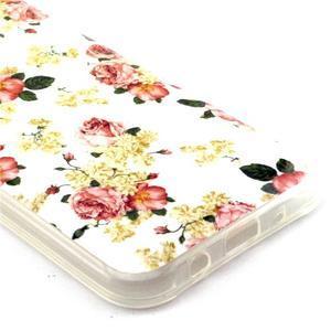 Imda gélový obal pre mobil Samsung Galaxy J5 - kvety - 2