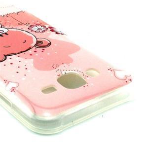 Imda gélový obal pre mobil Samsung Galaxy J5 - medvídek - 2