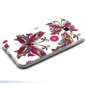 Trasnparent gelový obal na Samsung Galaxy J5 - nádherný motýl - 2