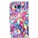 Pictu peňaženkové puzdro pre Samsung Galaxy J5 - farebné lístky - 2/6