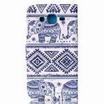 Pictu peněženkové pouzdro na Samsung Galaxy J5 - sloni - 2/6