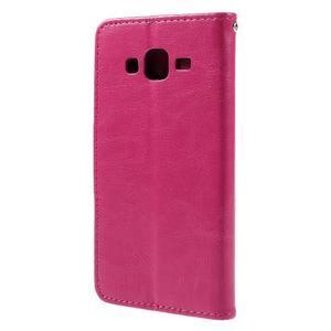 Peněženkové pouzdro na mobil Samsung Galaxy J5 - rose - 2