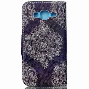 Emotive pouzdro na mobil Samsung Galaxy J5 - retro květ - 2