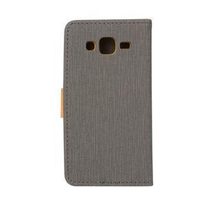 Walls pouzdro na Samsung Galaxy J5 - šedé - 2