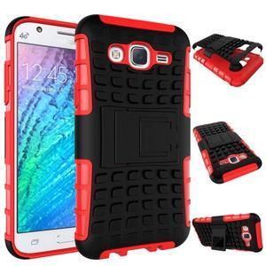 Outdoor kryt na mobil Samsung Galaxy J5 - červený - 2