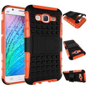 Outdoor kryt na mobil Samsung Galaxy J5 - oranžový - 2