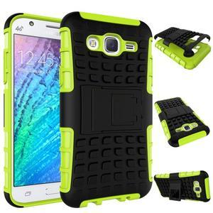 Outdoor kryt pre mobil Samsung Galaxy J5 - zelený - 2