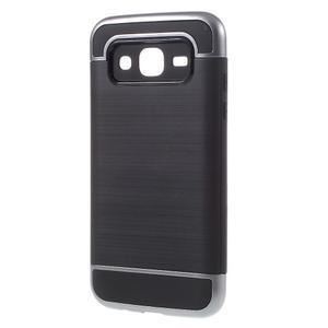 Odolný obal na mobil Samsung Galaxy J5 - šedý - 2