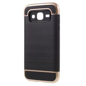 Odolný obal pre mobil Samsung Galaxy J5 - champagne - 2